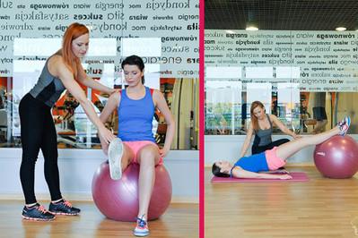Ćwiczenia z piłką rehabilitacyjną – TRENING 1 z Anią Troszczyńską Trenerką Dla Mam!
