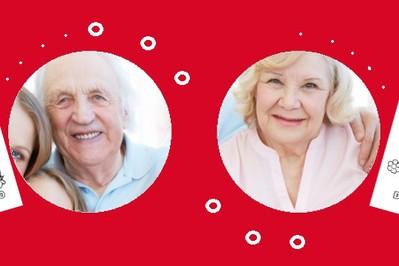 Laurka dla babci i dziadka do kolorowania DO DRUKU