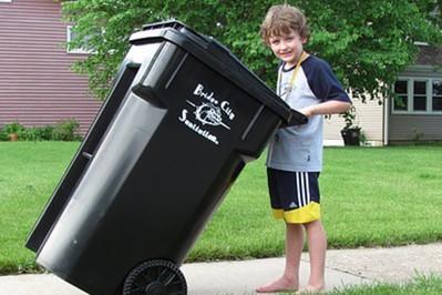 Przykład dla dziecka - segregacja śmieci po nowemu!