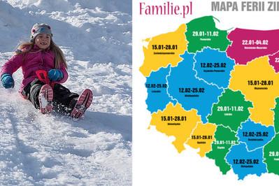 Kalendarz ferii zimowych 2018!