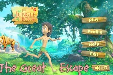 Gry dla dzieci Księga Dżungli