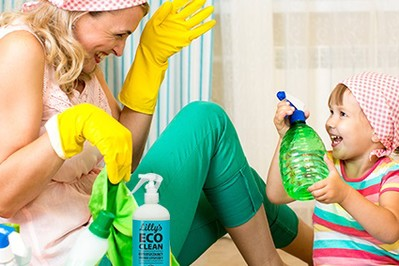 Lilly's ECO CLEAN- czysta ekologia w domu, bezpieczna dla Ciebie i Twojego dziecka
