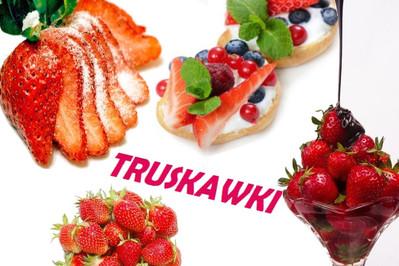 TRUSKAWKI: kalorie, przepisy LEKKIE I PYSZNE z kcal pod kontrolą!