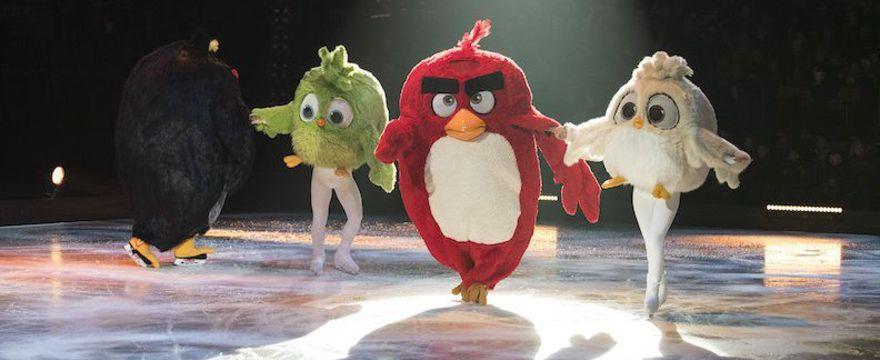 NIE PRZEGAP! Familijna rewia Angry Birds on Ice – już w lutym w Polsce!