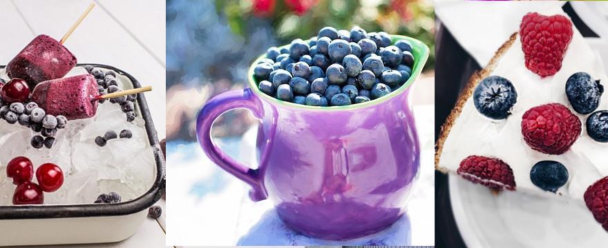 Lipiec w kuchni - w roli głównej jagody i porzeczki!