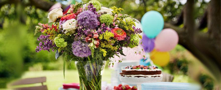 Prezent na urodziny? Kwiaty to podstawa!