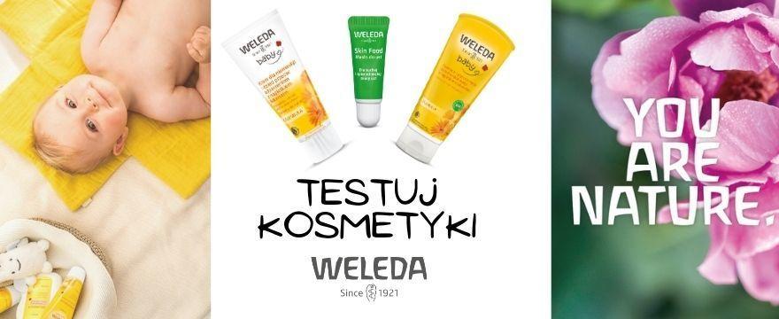 Szukasz naturalnych kosmetyków dla mamy i dziecka? Weź udział w TESTOWANIU marki Weleda!