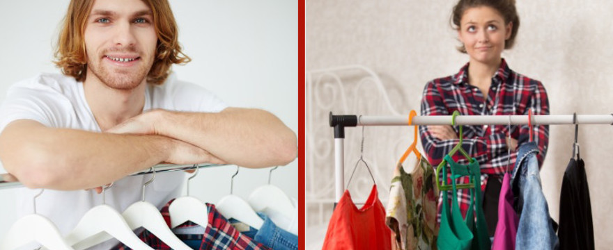 Rodzinne porządki: Zorganizuj szafę na wiosnę! PROSTE TRICKI!