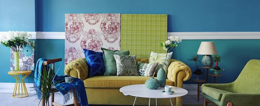 Ściana dobrze zgrana, czyli jak dobrać kolor farby do innych elementów w pomieszczeniu