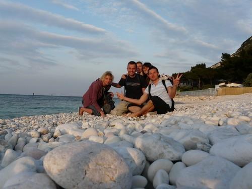 z przyjaciólmi :) na plazy...